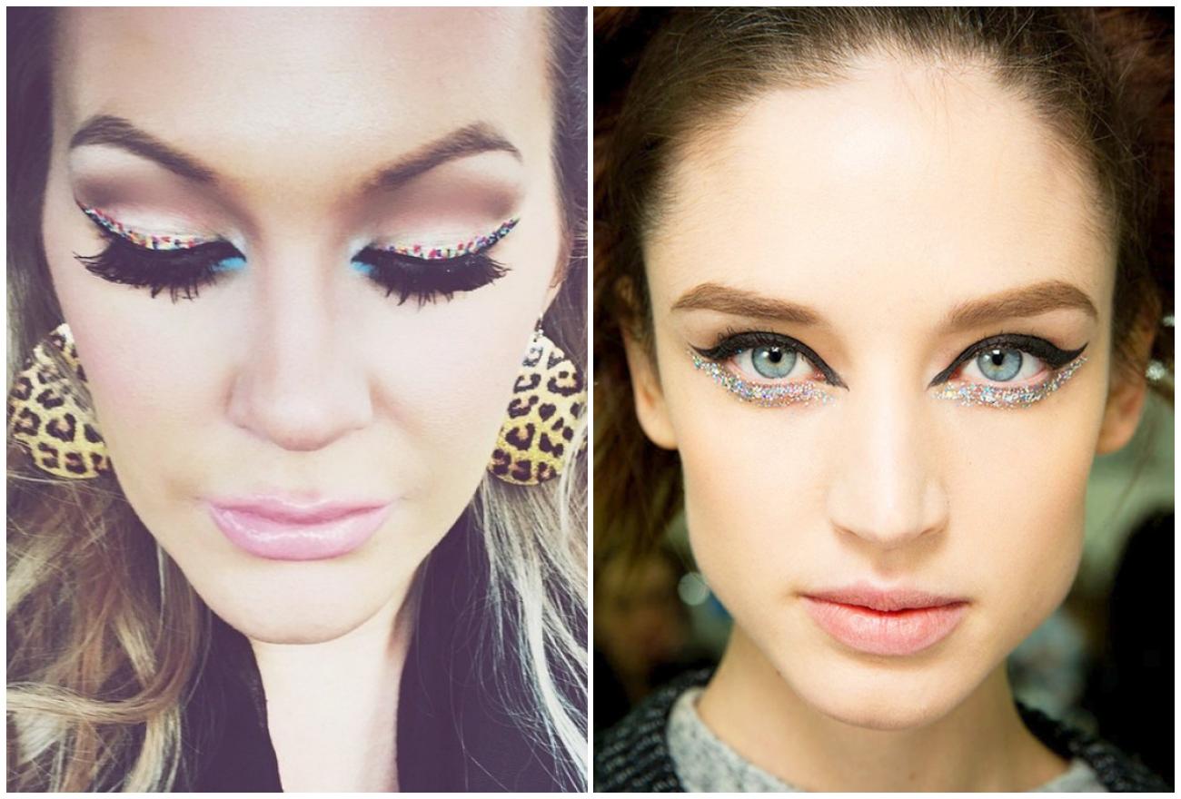 Стрелки-конфетти — новый яркий тренд в мире макияжа