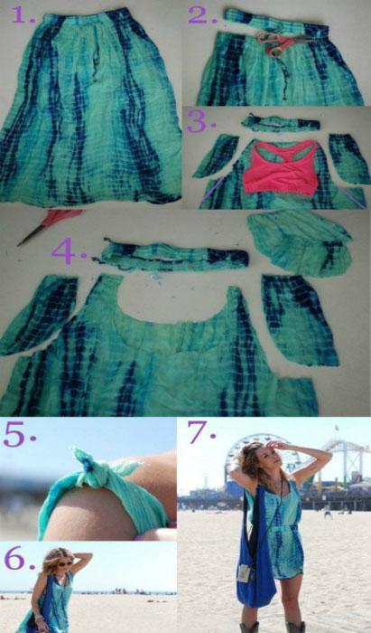 Летний гардероб без больших затрат: 16 примеров превращения старой одежды в стильные вещи Femmie