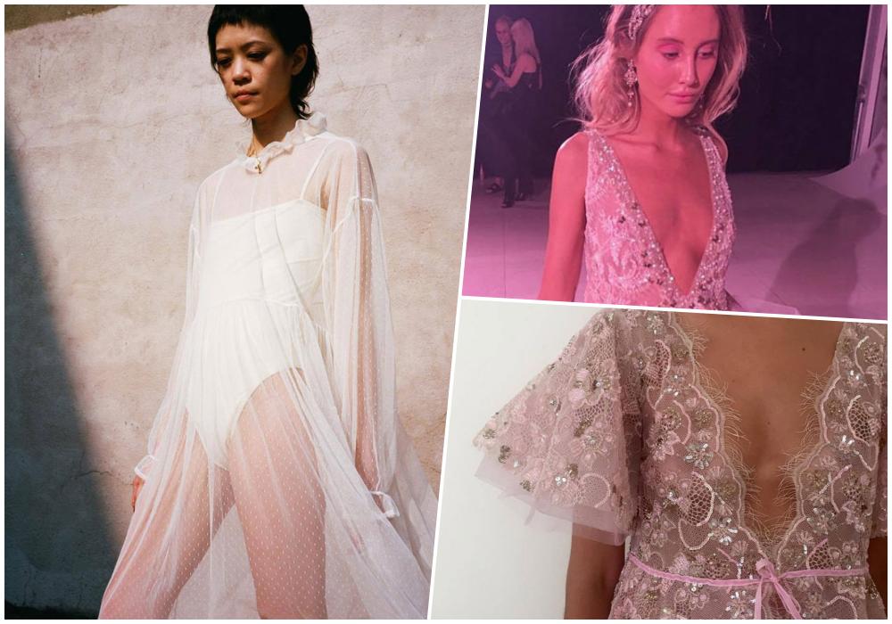 Нечего скрывать: как носить прозрачные платья