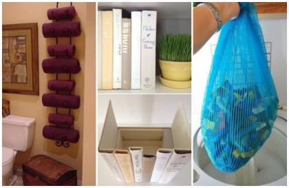 13 хитроумных идей, которые обеспечат порядок в доме! Кое-что новенькое…