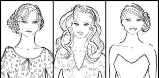 Как правильно сочетать прическу с вырезом на платье
