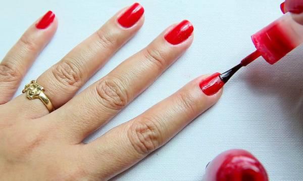 как высушить ногти в домашних условиях видео