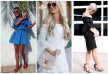 Изящные платья с открытыми плечами: 20 вариантов для романтичных натур