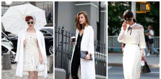 Модные цвета: с чем носить белые вещи, чтобы не выглядеть как медсестра