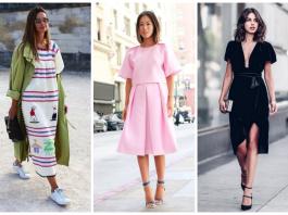 9 платьев, за которыми гоняются модницы