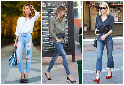 С чем носить джинсы 7/8 и 3/4 длины: 30 оригинальных образов