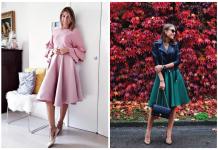 Женственные образы с пышной юбкой: 20 нежных вариантов для грациозных женщин