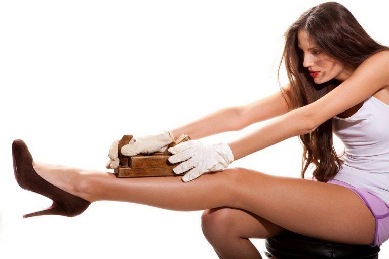 Как сделать кожу тела гладкой в домашних условиях