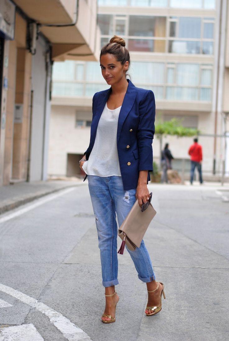 Модные пиджаки с чем носить