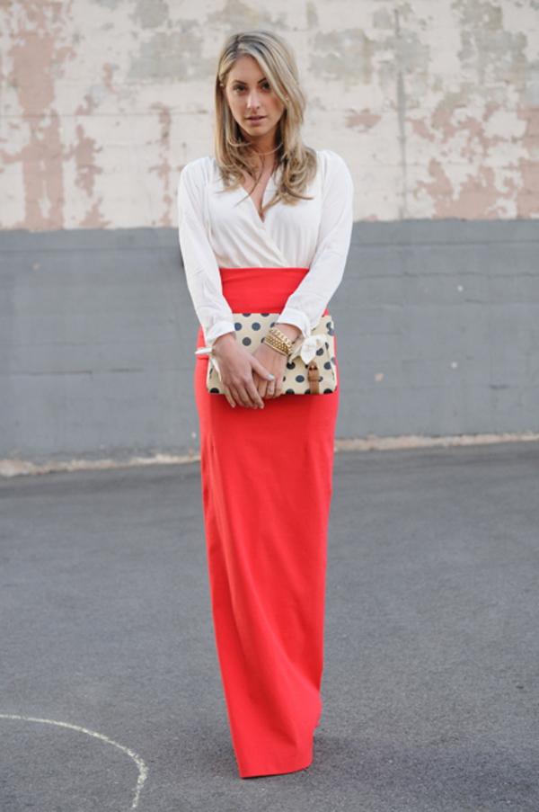 Как подобрать себе юбку макси