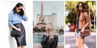 Кожа как символ стиля: 10 нарядов, которые должны быть у каждой женщины