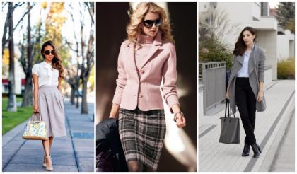 Стильные образы успешных деловых женщин.
