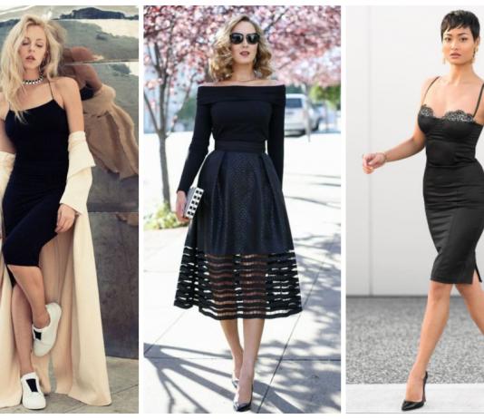 Легендарное черное платье - 10 свежих образов для особых случаев