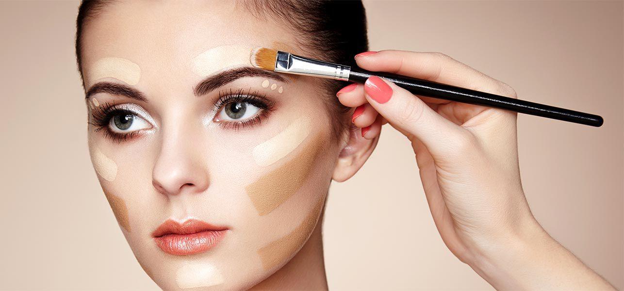 Для макияжа лица все слои по пунктам