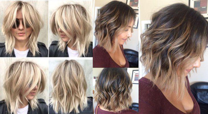 Стрижки для пористых волос средней длины