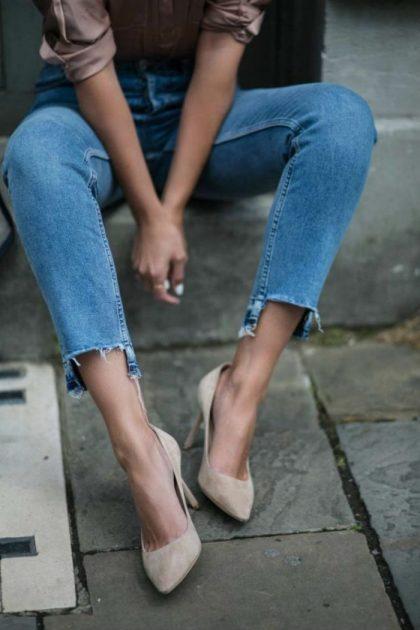 джинсы мода