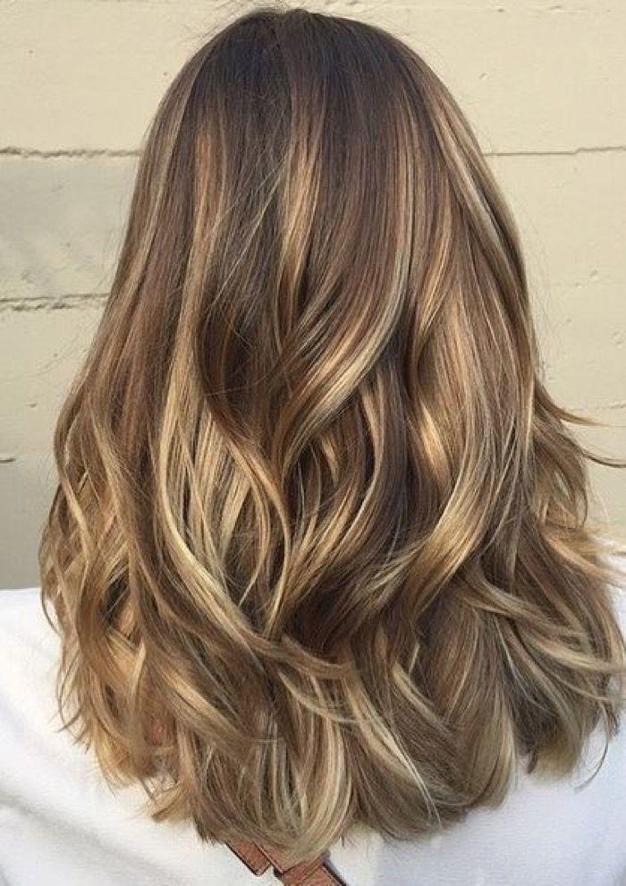 Модное окрашивание волос Бейбилайтс