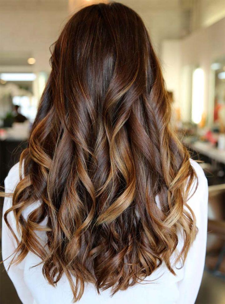 Модное окрашивание волос Балаяж