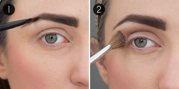 How to do makeup for big eyes