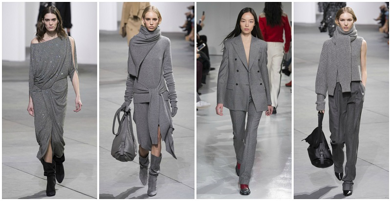 Самые модные цвета зимы и осени 2017 нейтральный серый