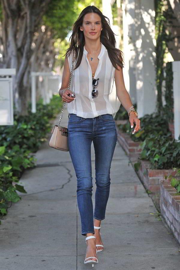 Самые модные фасоны джинсов скинни 2