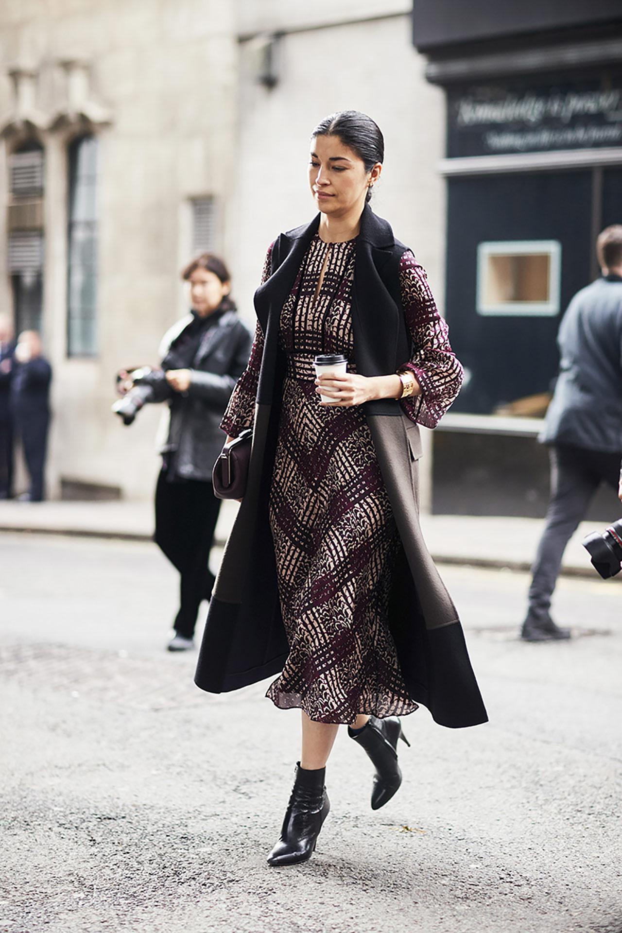 London fashion trends winter 2018