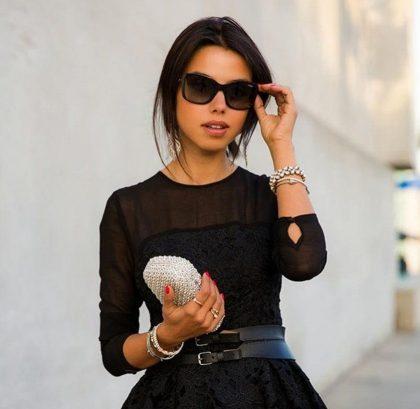 фасоны черного платья