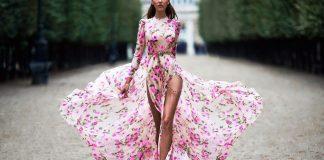 модные платья осени 2017