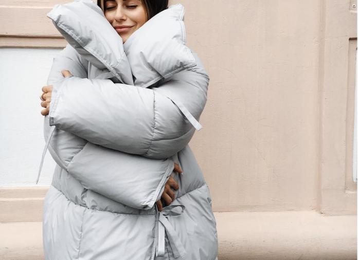 80dfc3edb3d Пуховик-одеяло  5 стильных стёганых моделей по доступной цене