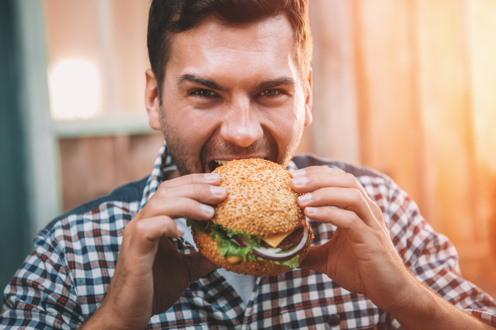 Картинки мужики с едой