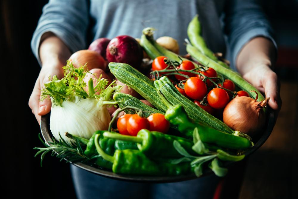 Овощная диета осенью
