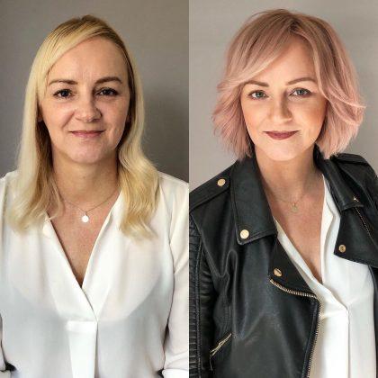 Как стилист из Чехии меняет внешность женщин: 8 преображений на фото