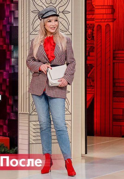 50-летняя принцесса на «Модном приговоре»