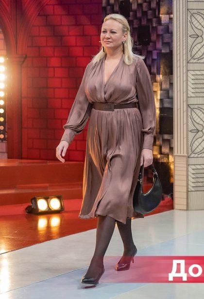 Молодящаяся 50-летняя особа на «Модном приговоре»