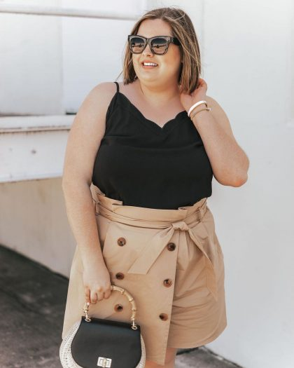3 случая, когда мини-юбка на полной женщине выглядит красиво